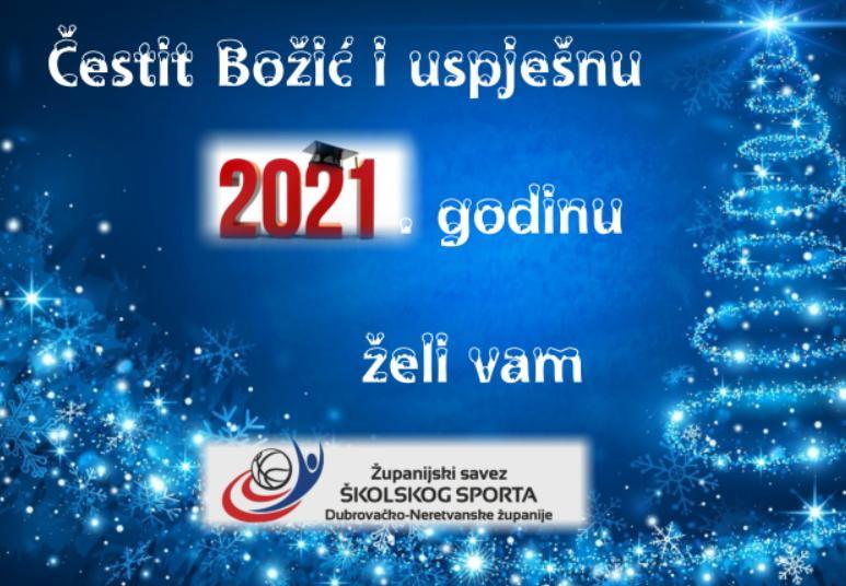 Čestit Božić i nova 2021. godina