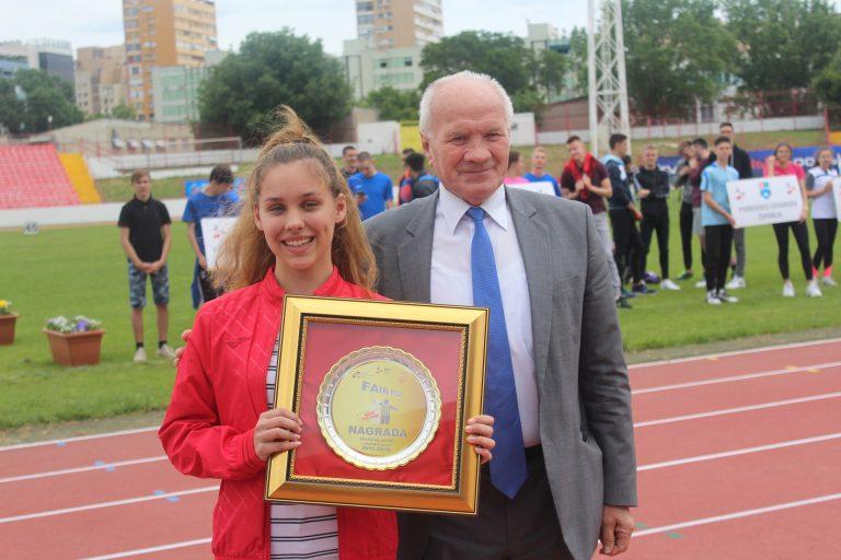 Helena Kožul, članica školskog sportskog društva Škoj, Srednje škole Blato iz Blata