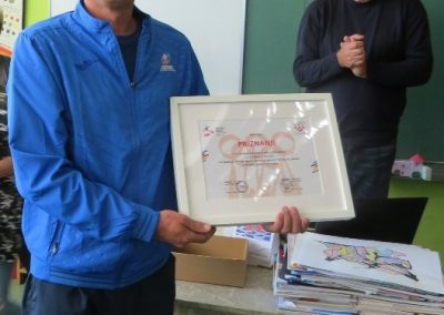 Dodjela priznanja za natječaj HOA-e i HŠSS-a NA TEMU OLIMPIJSKI PLAKAT